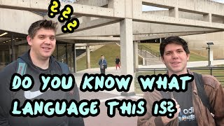 Have You Ever Heard of This Language?
