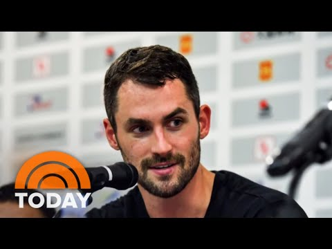 NBA Player Kevin Love Opens Up To Carson Daly About Mental Health | TODAY