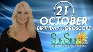 Birthday October 21st Horoscope Personality Zodiac Sign Libra Astrology