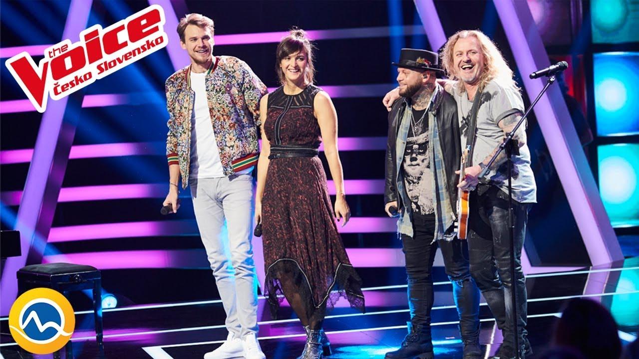The Voice Česko Slovensko 2019 - Špeciálne číslo - Jana Kirschner, Vojta Dyk, Kali, Pepa Vojtek