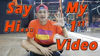 Say Hi ... My 1st Video | Dance Fitness By Golfy | Give Me Five Thailand