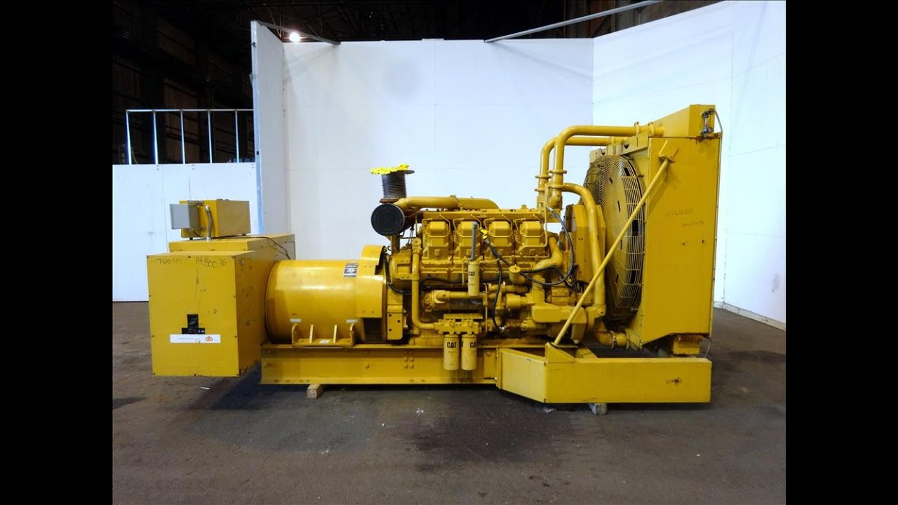 Caterpillar  Kw Natural Gas Engine