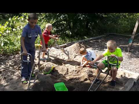 Www.sandboxdigger.com Maintenance Free - No Rust Playground Equipment Sand Digger