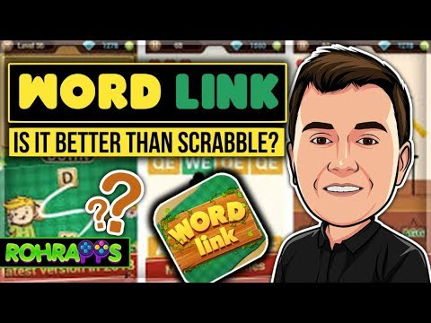 WORD LINK-5 Star Word Game, Is It Better Than Scrabble? Mobile Gameplay And Review