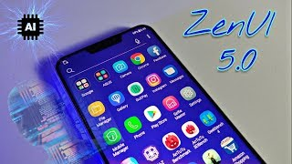 Zenfone 5z features with ZenUI 5.0