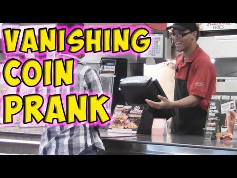 Vanishing Coin Prank
