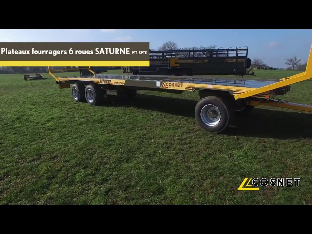 Cosnet agricole - Plateau fourrager porté SATURNE PTE-SPTE