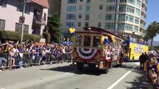 Golden State Warriors 2015 Victory Parade Part 1