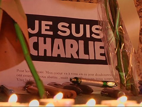 Vigils in US Supporting French Newspaper