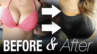 How to Make BIG BOOBS Appear Smaller! #ThinAndCurvy | itsLyndsayRae Thumbnail