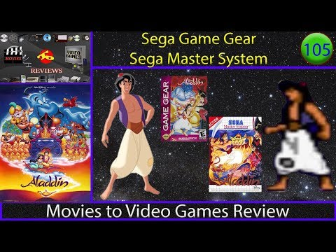 Movies to Video Games Review - Disney's Aladdin (Game Gear / Sega Master System)
