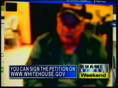Vet claims exposure to Agent Orange on Guam