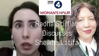 Radha Stirling on BBC Woman's Hour:  Women's Rights in the UAE and Princess Latifa of Dubai