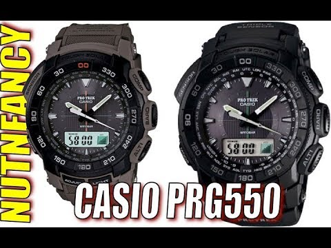 This Casio May Double in Value:  ProTrek 550 Series