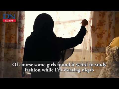 The niqabi fashion designer puts soul in clothes