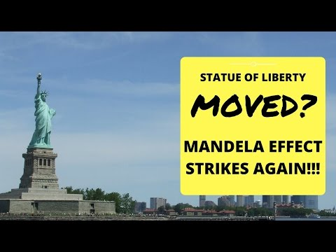 Statue of Liberty moved? (Mandela Effect strikes again)