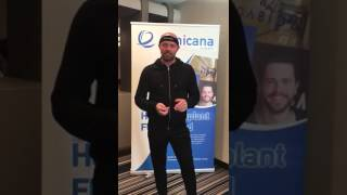 Hair transplant testimonial at Clinicana Istanbul Turkey, from UK