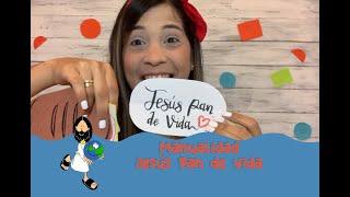 Mundokids   Manualidad Jesús Pan de Vida   29 de Junio 2020