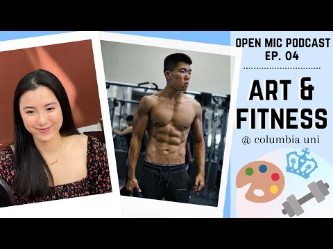 Columbia Artist & Bodybuilder | Beauty, Brains, & Brawn | Open Mic Podcast - Episode 4