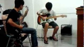 Guitar and bass guitar - Blues never die (B.Aceh Chinesse Boyz :) ).mp4