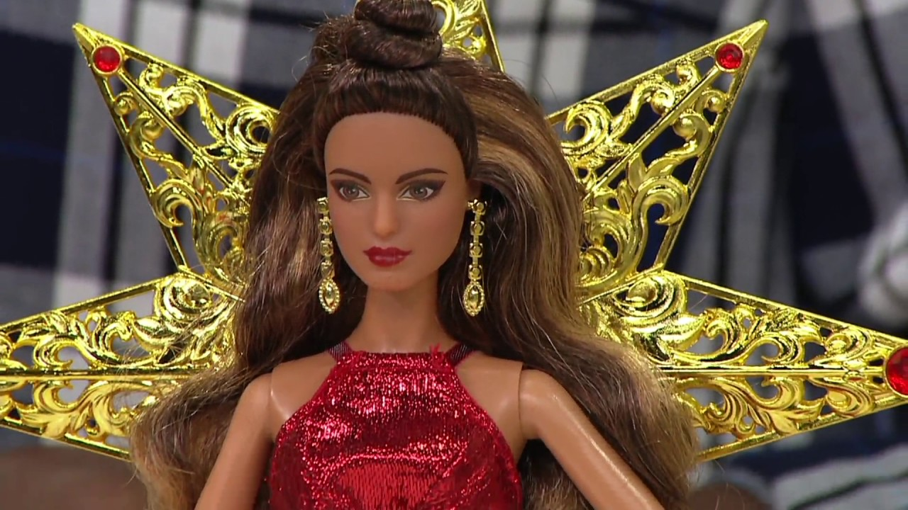 Mattel Barbie Collector 2017 Holiday Fashion Doll