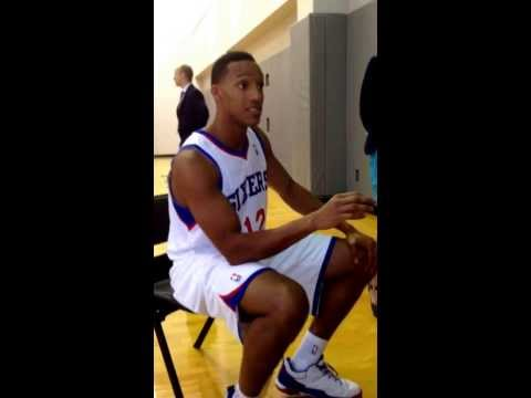 Evan Turner discusses differences between Doug Collins & Brett Brown - Sixers Media Day