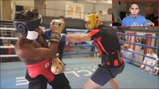 REACTING TO KSI & DEJI SPARRING!