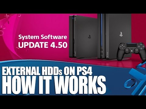 External HDDs on PS4 - How It Works