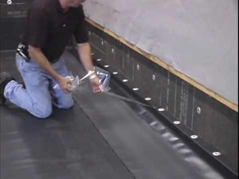 Reinforced Perimeter Weatherbond Weld Free Tpo Youtube