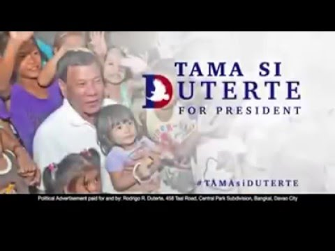 Duterte Supporters' Response on Anti-Duterte Advertisement by Trillanes (May 5,2016)
