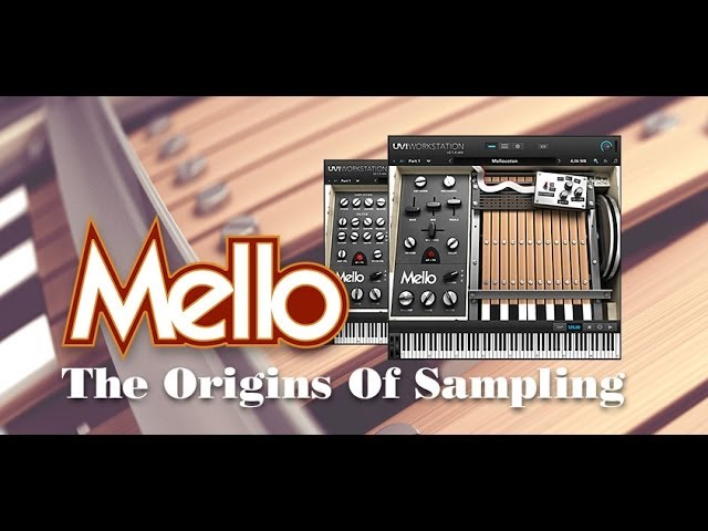 Free Virtual Mellotron, Mello, From UVI – For iLok Users