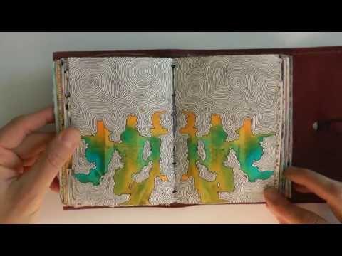Mein Zeichentagebuch #1 | My drawing diary #1 :: Ulrike Hirsch