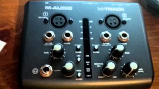 M-Audio Two-Channel USB Audio/MIDI Interface/Channel Update