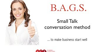 Small Talk method - Business English Q&A examples