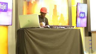 DJ CIBIN KENYA PLAYING VOLOOM BY NAMELESS  AT K24 T.V ALFAJIRI FRIDAY HANGOUT SHOW