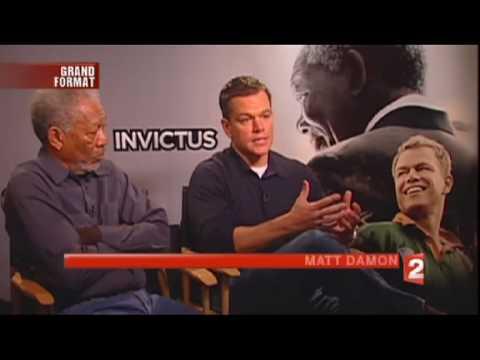 Journal France 2 - Reportage sur le film Invictus de Clint Eastwood