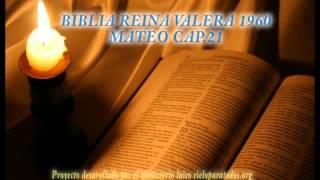 BIBLIA REINA VALERA 1960 MATEO CAP 21