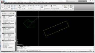 AutoCAD Basics - Rotating Objects