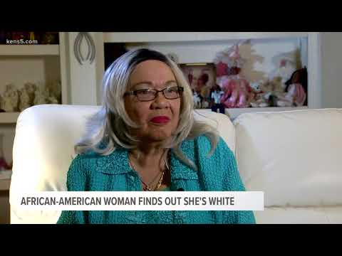 African-American woman finds out she's white