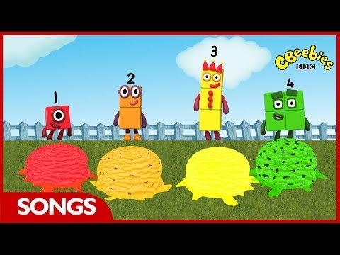 Numberblocks Songs | Scoop A Scoop