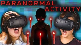 PARANORMAL ACTIVITY | VR HORROR GAME! (Teens React: Gaming)