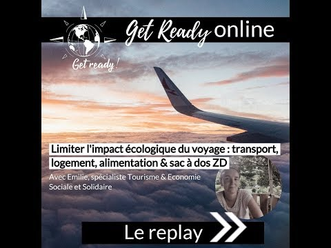 """En replay - Webinaire """"L'impact écologique du voyage """""""