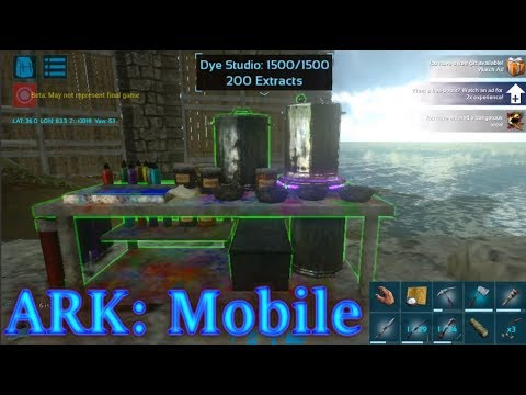 CRAFTING STATIONS AND SOOTHING BALM! TIPS ON PURCHASABLE ITEMS! Ark: Mobile Episode 14