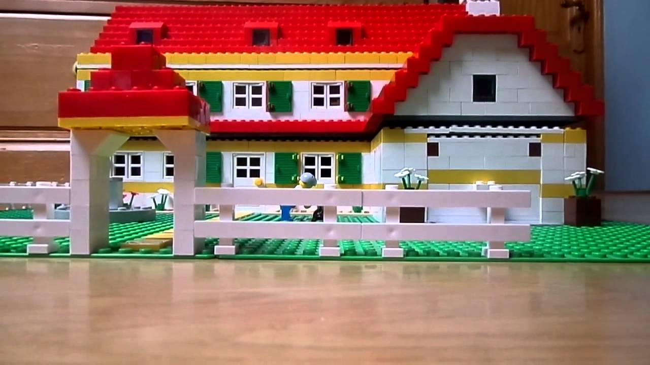 lego family home with garage maison familiale avec garage youtube. Black Bedroom Furniture Sets. Home Design Ideas