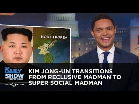 Kim Jong-un Transitions From Reclusive Madman to Super Social Madman | The Daily Show