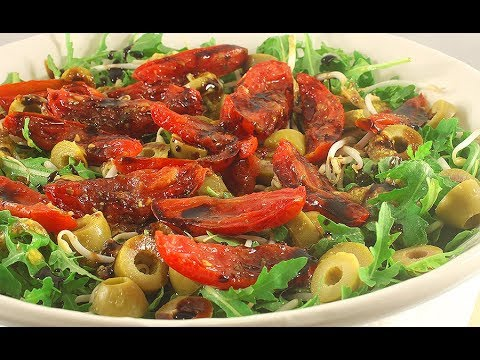 Итальянский Салат с Вялеными Помидорами/Это Очень Вкусно