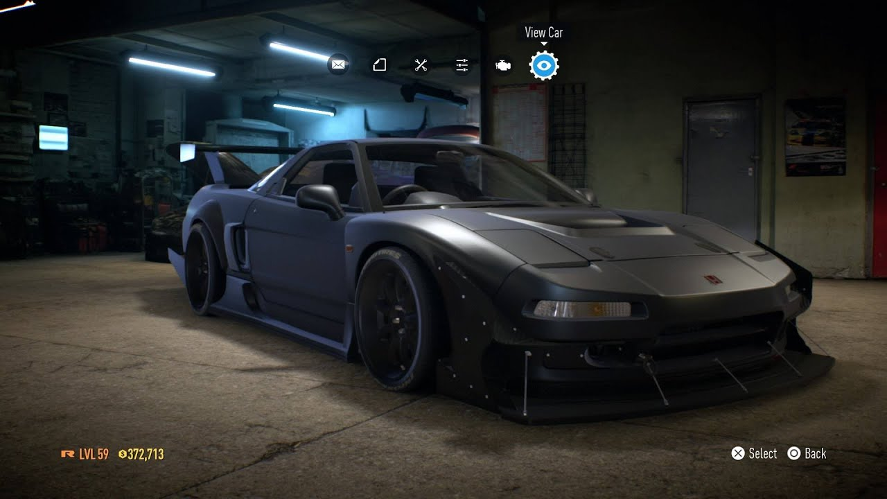 Need For Speed 2015 Honda Nsx Type R Nothing To See