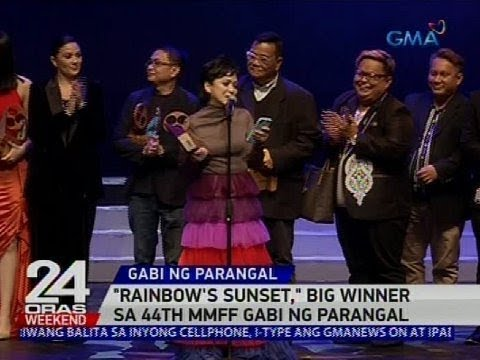 'Rainbow's Sunset,' big winner sa 44th MMFF Gabi ng Parangal
