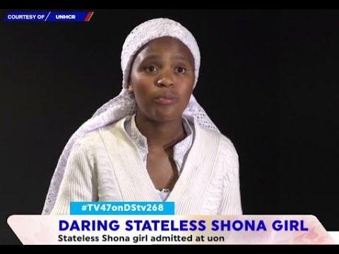 Meet the stateless, Shona girl who has beaten all odds to join the University of Nairobi