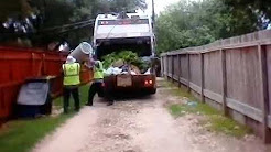 Allied waste Mack le rear loader